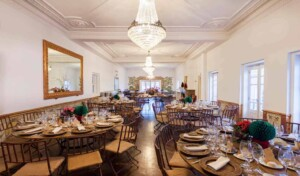 Elegant and luminous venue for private dining and receptions