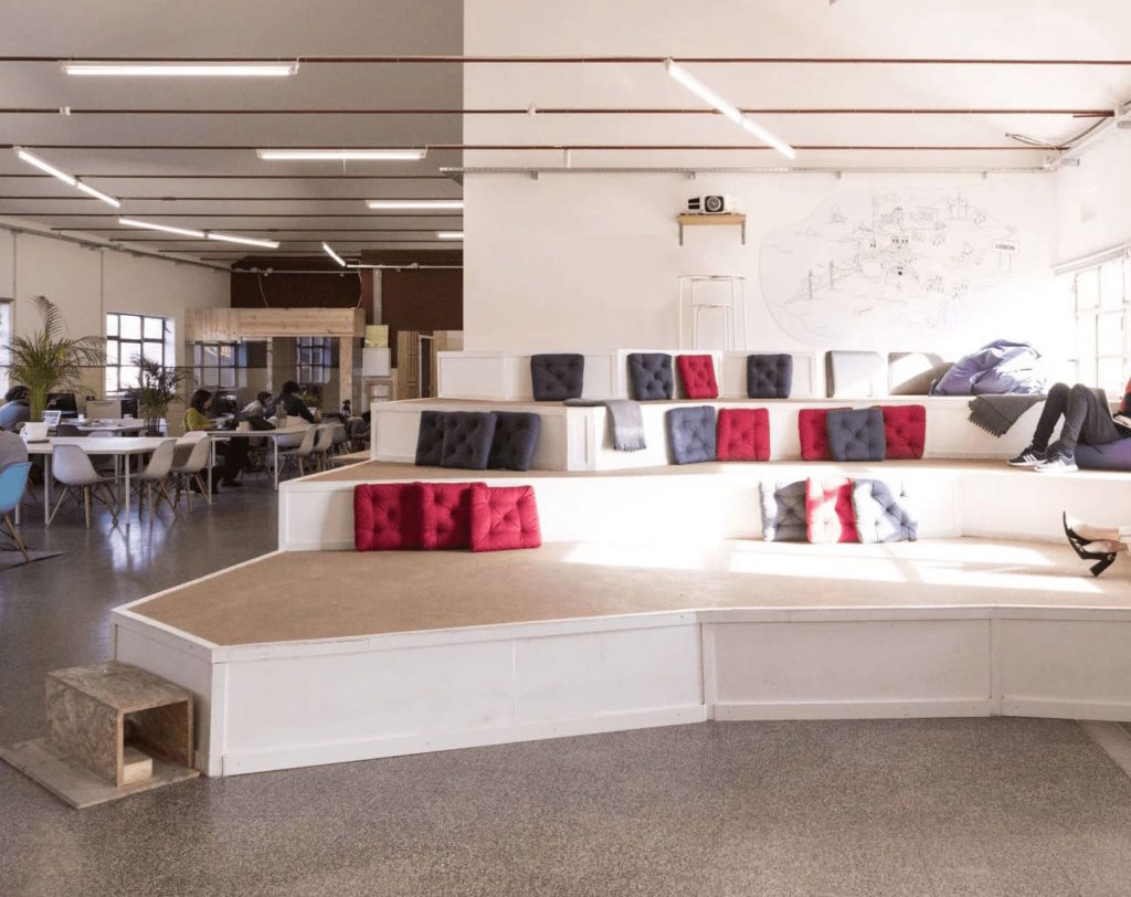 Flexible and highly functional event venue in Lisbon