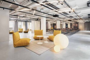 Industrial chic event venue in Stockholm