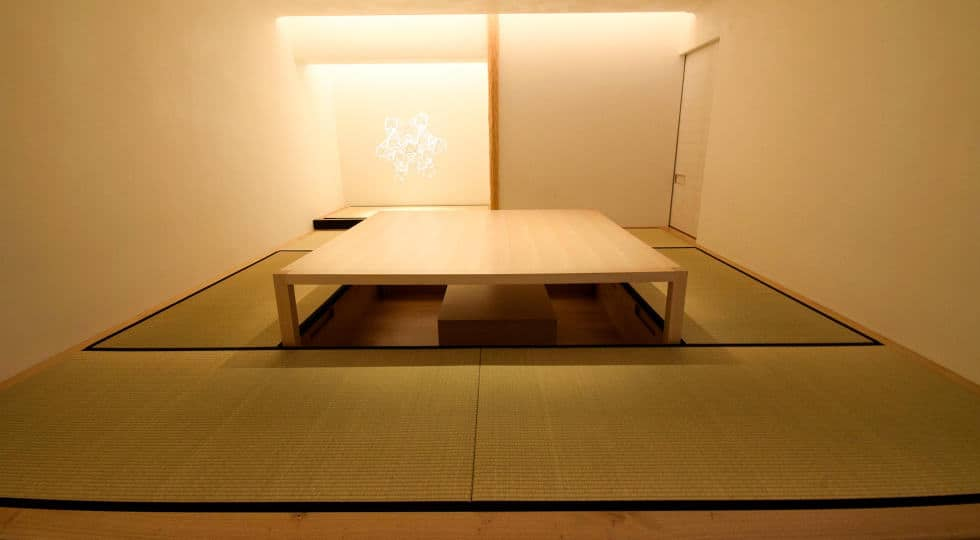 Japanese-style meeting spot in London