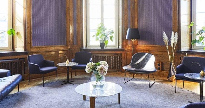Magnificent elegant room in central Stockholm
