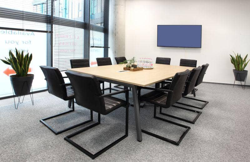 Modern space for professional encounters in Prague