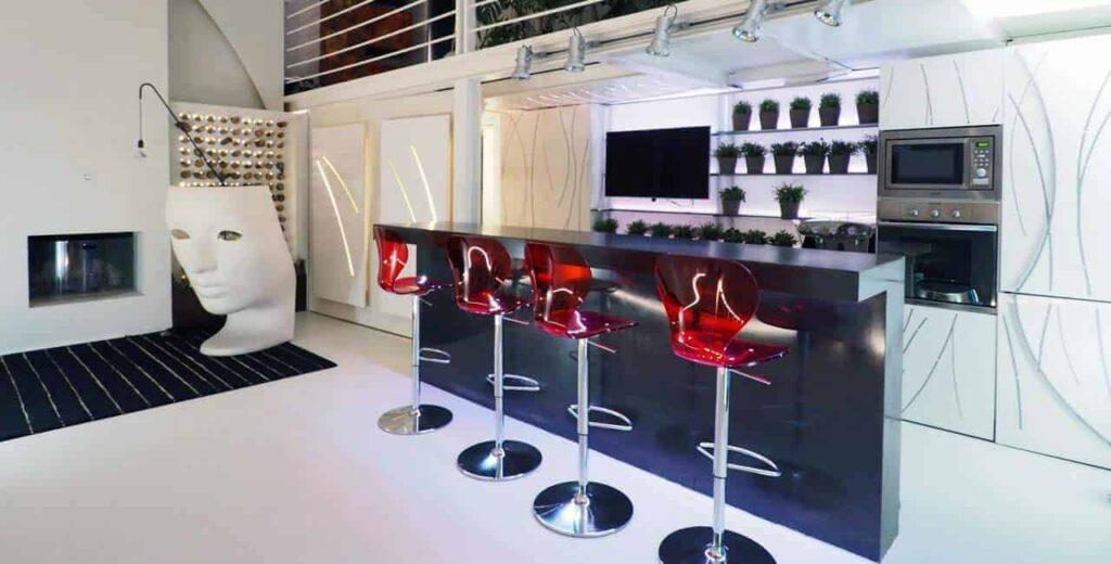 Multipurpose futuristic venue for events