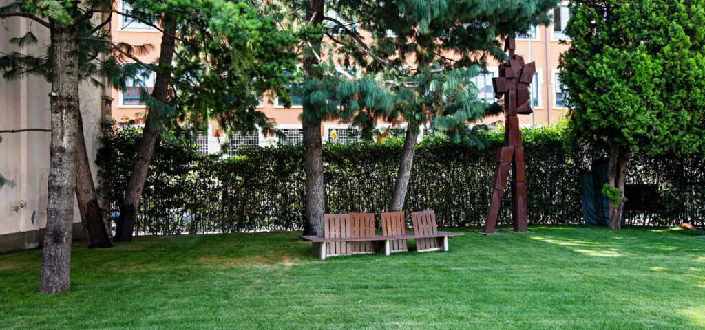 Stunning garden for afterworks and receptions