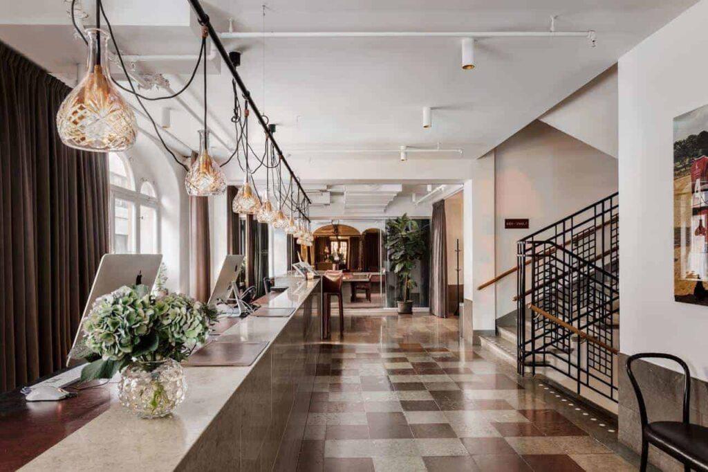 Stylish Art Nouveau boutique hotel