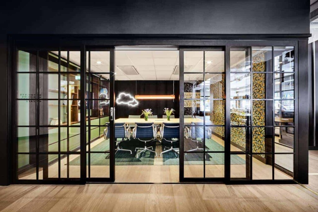 Bright and fun space for professional meetings