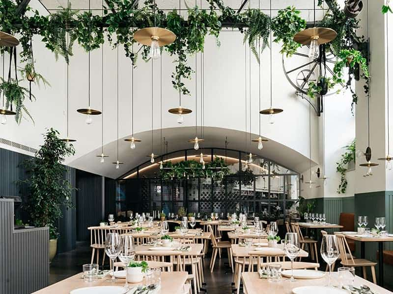Chic trendy location for private dining