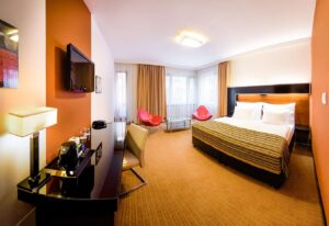 Contemporary luxurious hotel in Prague