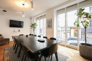 Formal boardroom fully equipped