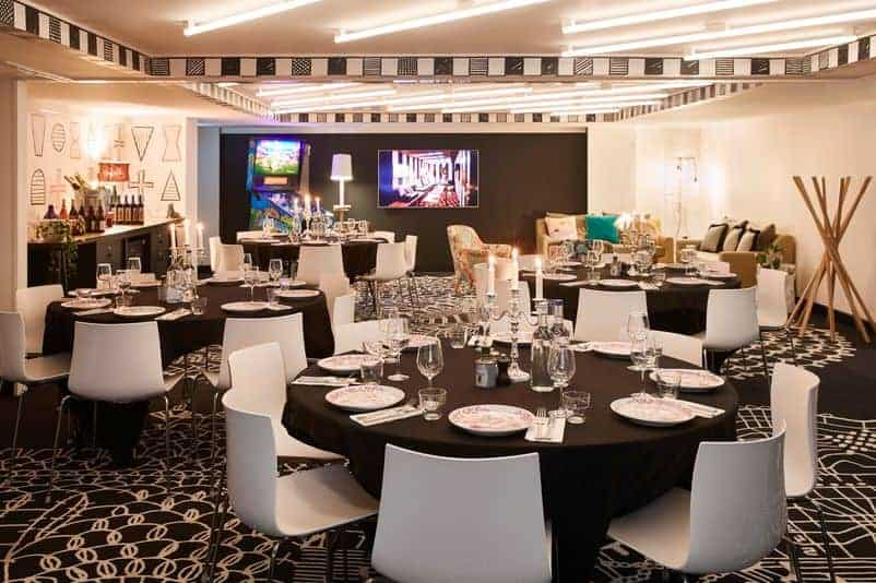 Hip and surprising event venue for meetings and celebrations