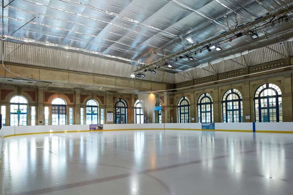 Ice rink venue for team away days