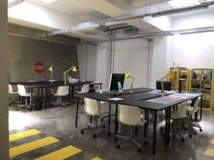 Industrial workspace for vital business projects