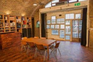 Intimate event venue with Victorian exposed bricks