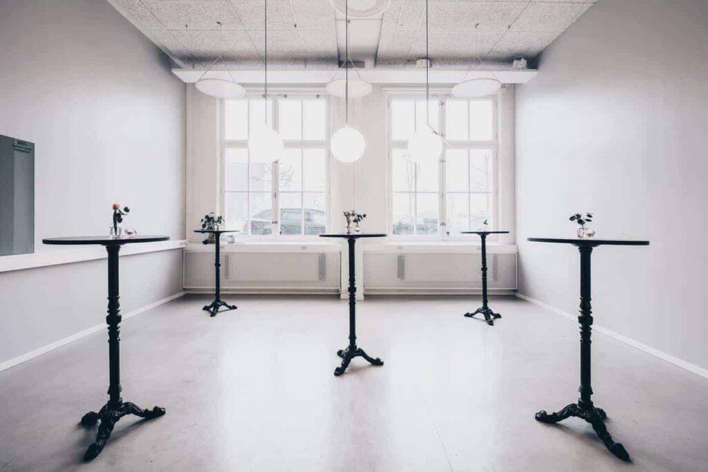 Minimalistic cosy room in Stockholm
