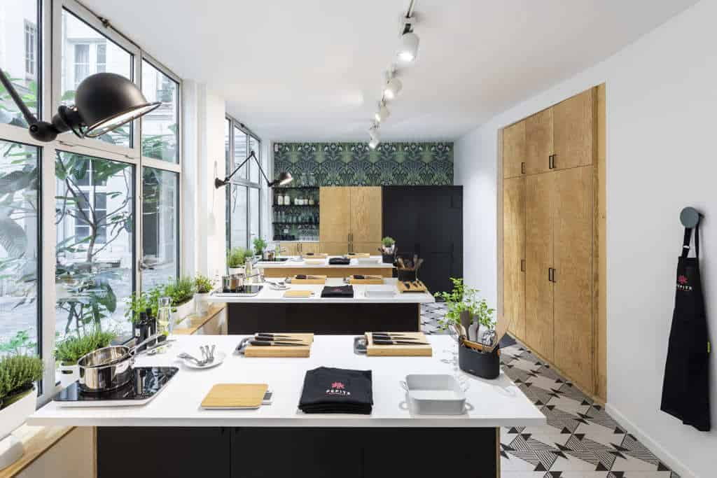 Modular workshop for culinary experiences