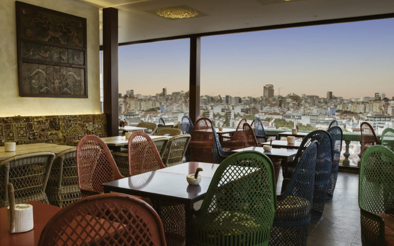 Private dining venue with astonishing view in central Lisbon