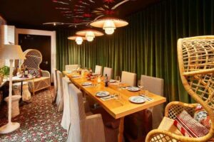Quirky and intimate spot for meetings and private dining