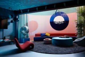 Quirky private supersize loft