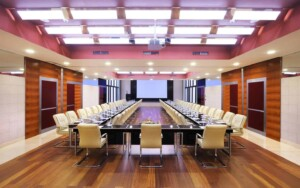 Sleek space for important meetings