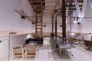 Chic industrial space for cocktail events