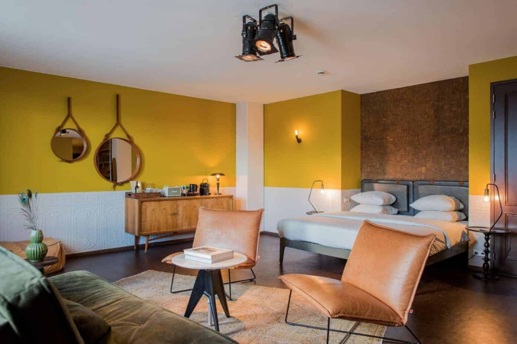 Design hotel with stylish rooms