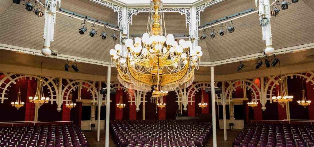 Distinctive magnificent auditorium in Copenhagen
