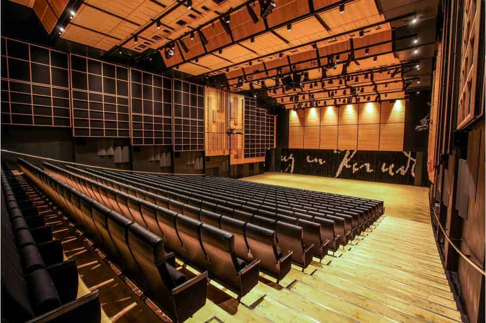 Emblematic conference hall with a beautiful design
