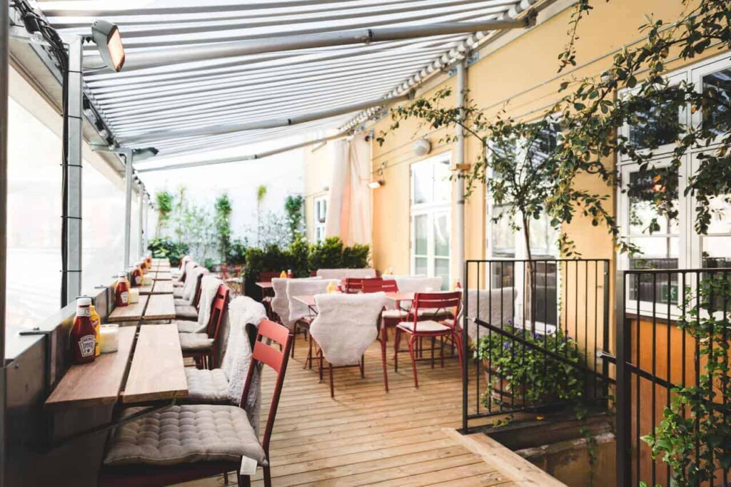 Hidden rooftop terrace for chic events