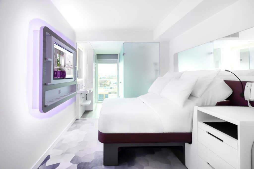 Luxury hotel with a sustainable design