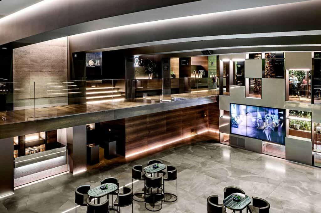 Luxury venue with a sleek design