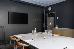 Minimalistic room for intimate meetings