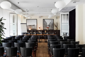 Modern conference room with charm