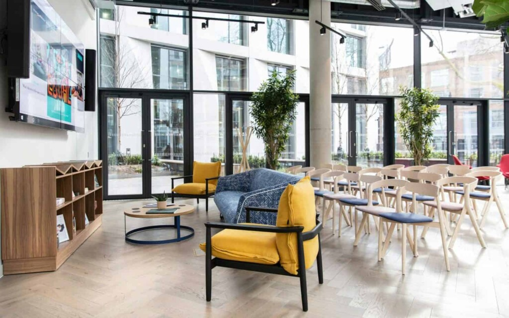 Multifunctional bright and modern event space