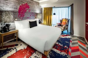 Quirky hotel with an extravagant design