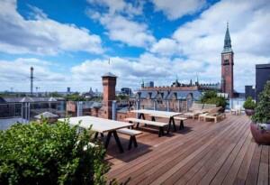 Sky-high urban oasis in the heart of Copenhagen