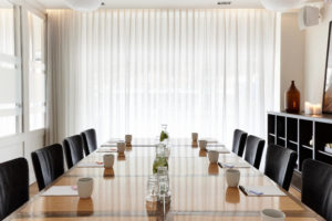 Small classic boardroom for intimate meetings