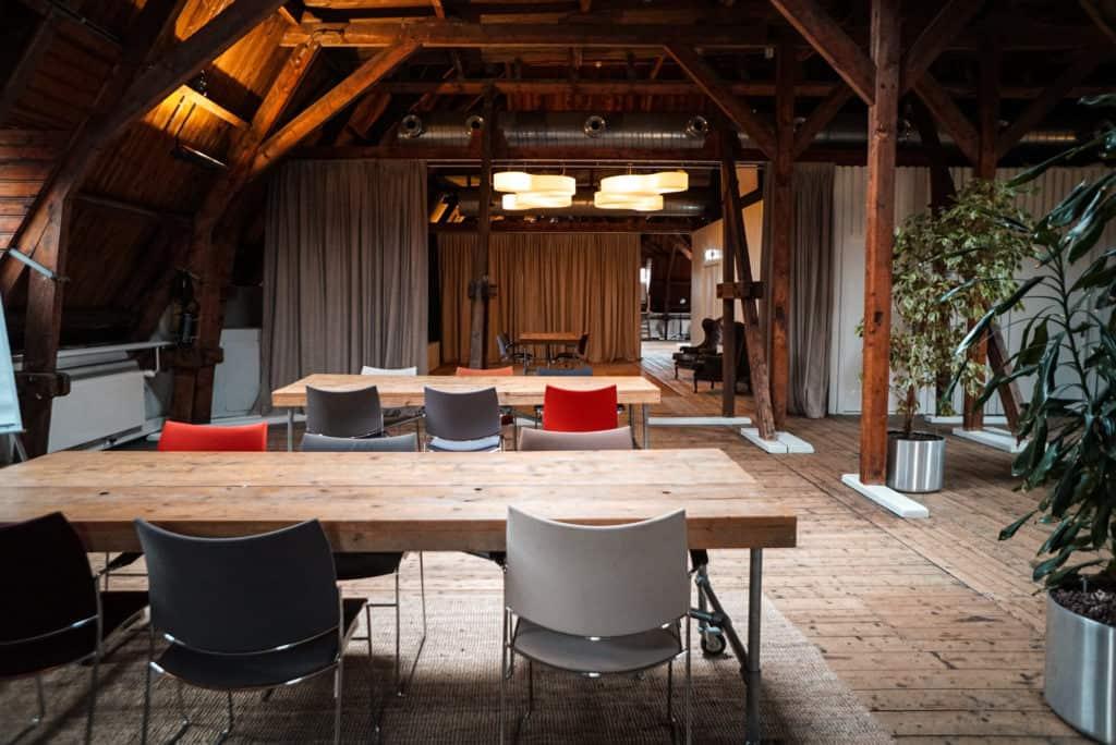 Wooden attic amsterdam
