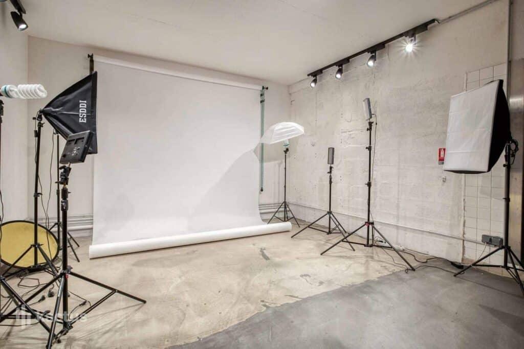 Innovative studio for photoshoots