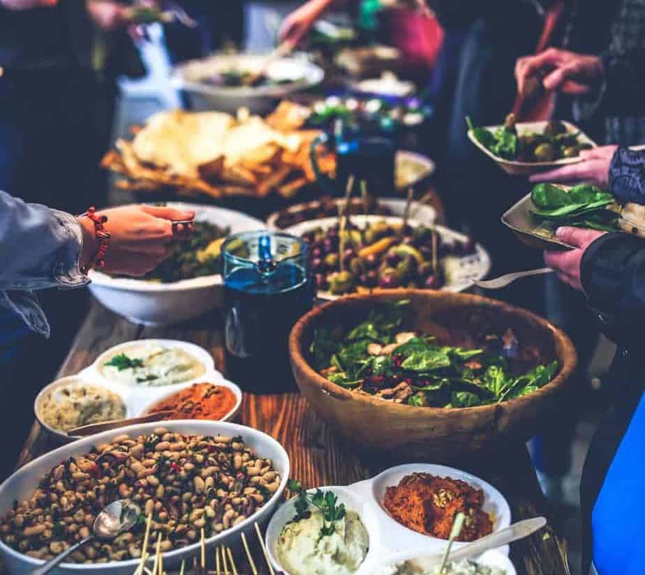 Catering trends Covid buffets