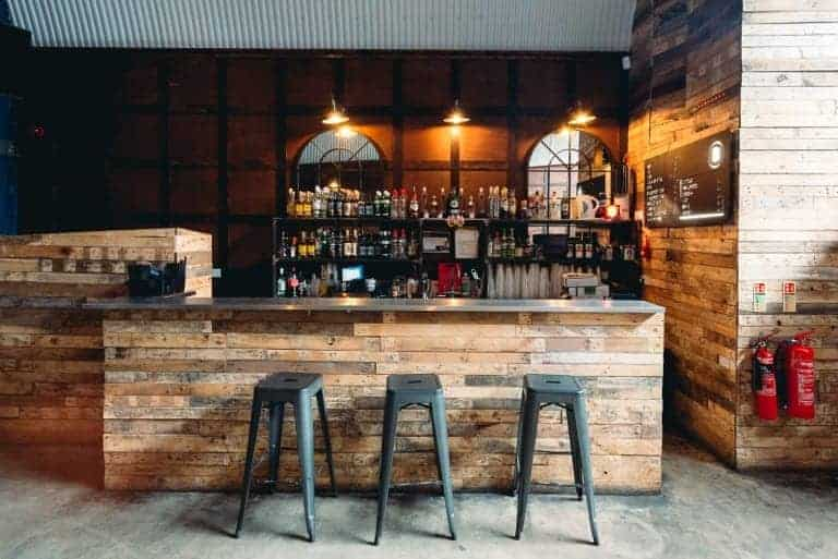 Cosy event space with a rustic touch