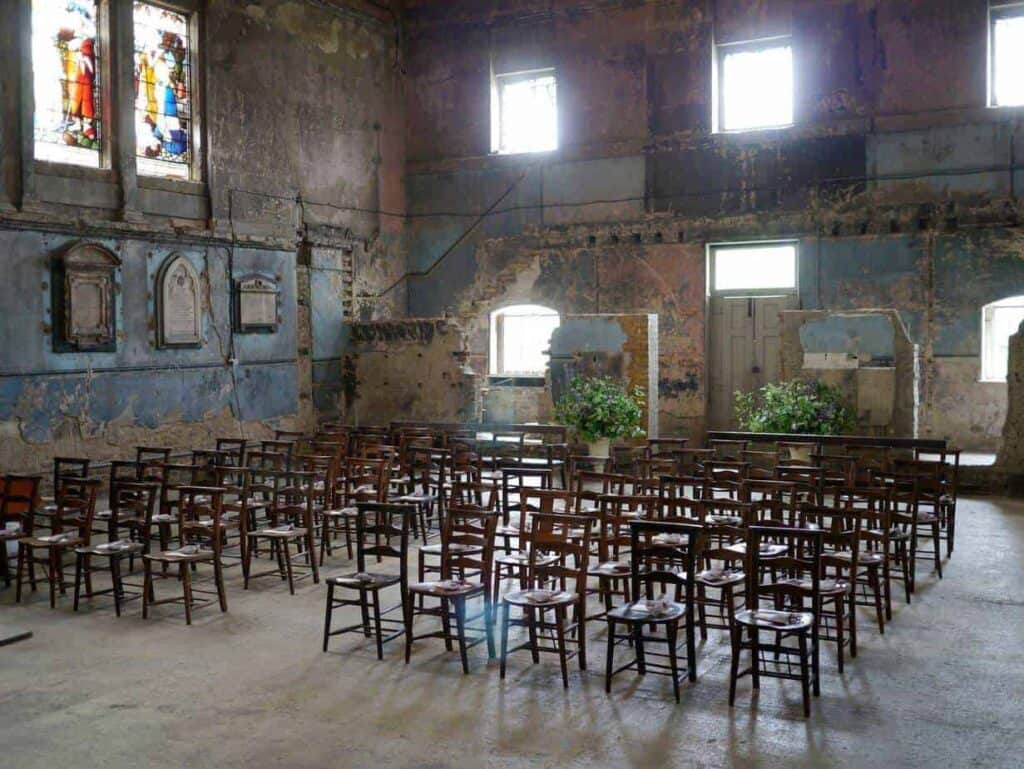 old venue steeped in history