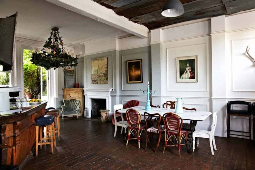Old Victorian pub with statement pieces