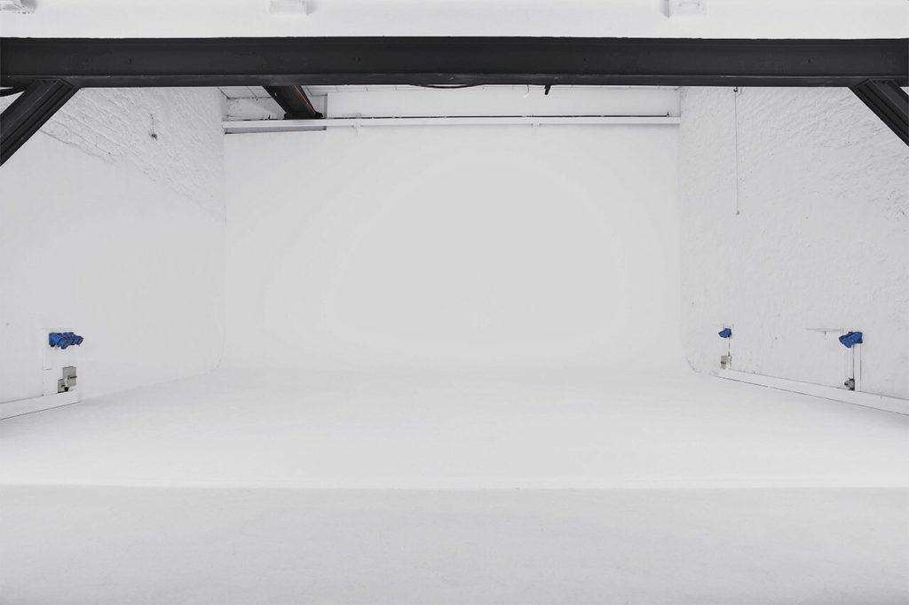 White photo studio for any photoshoot theme