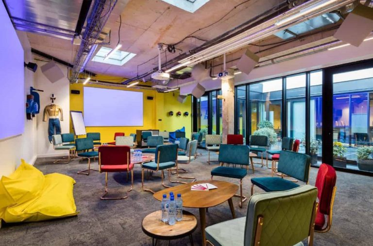 Meeting venues with a quirky decor for creative encounters