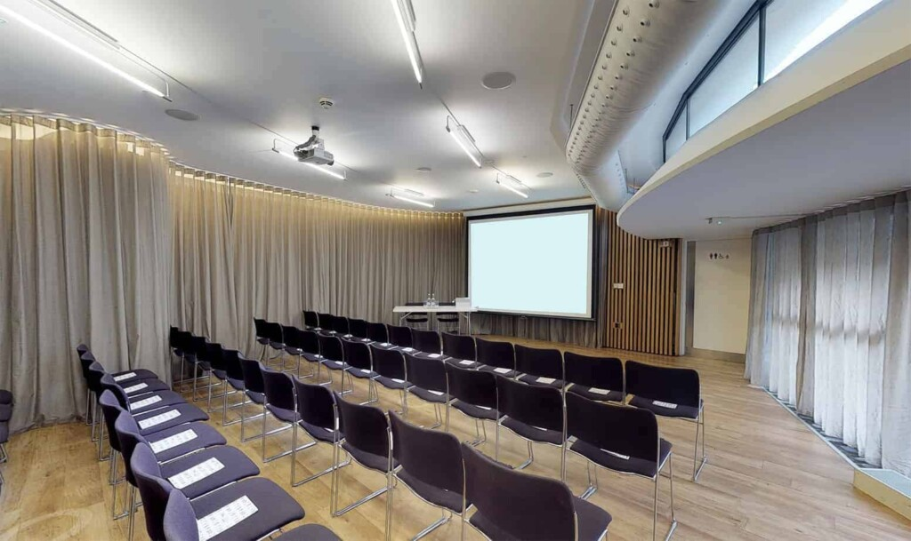 Radiant and modern venue in Barbican for conferences, receptions and private dining.