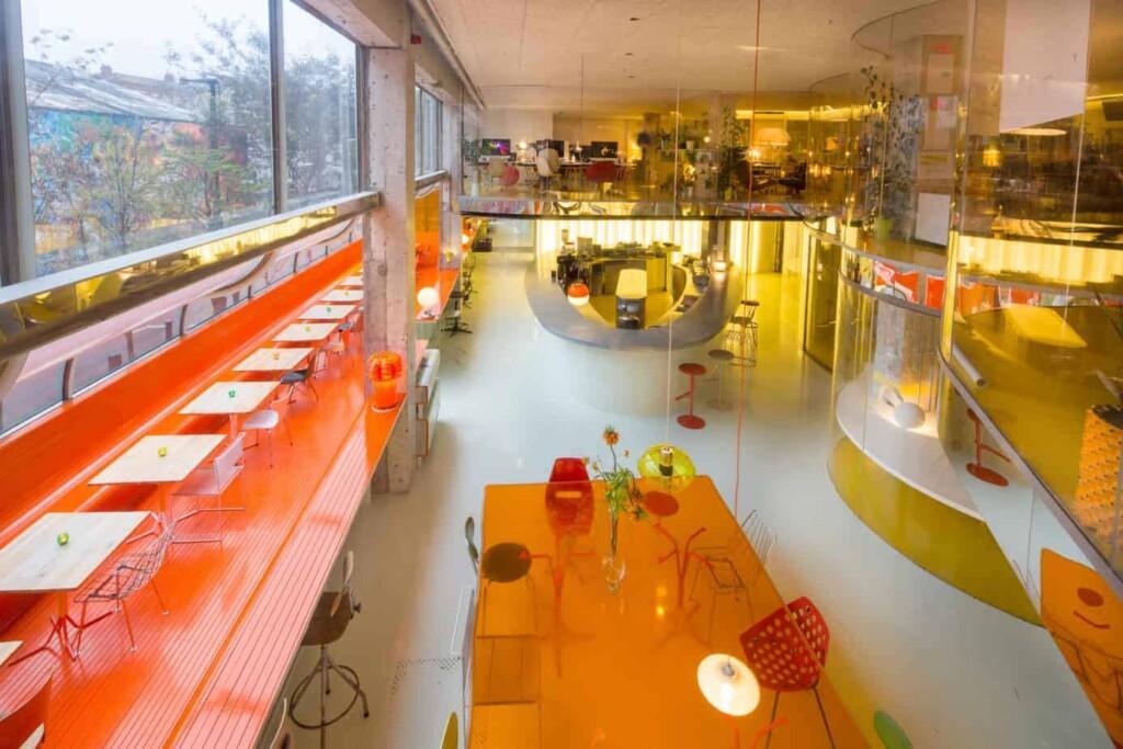 creative modern workspace