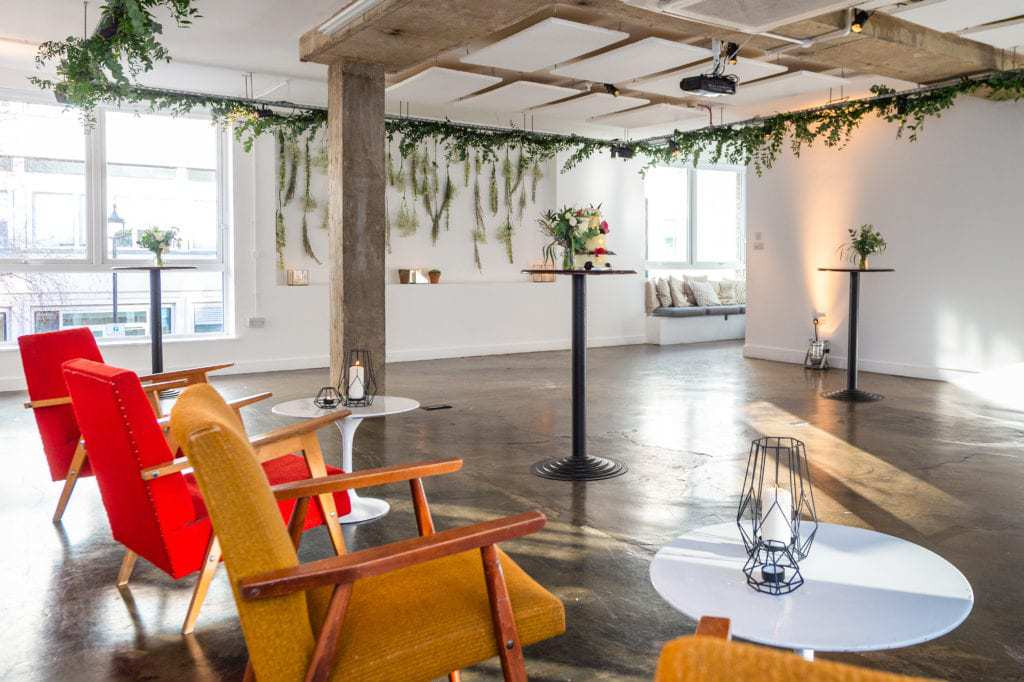 Scandi-inspired chic venue for events