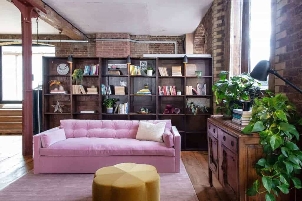 Stunning venue with a New York loft style