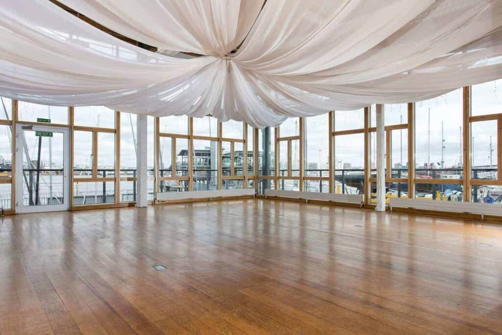 Pier venue with stunning views