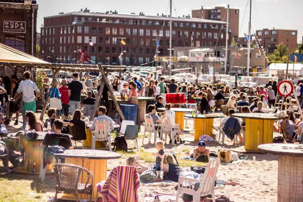 Amsterdam Roest outdoor bar